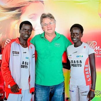 Dobradinha queniana marca Meia Maratona do Descobrimento