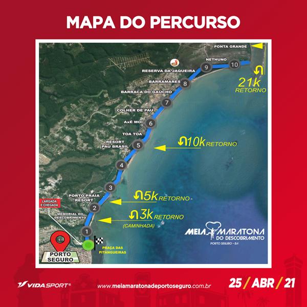 Meia Maratona do Descobrimento edição especial-2020/2021