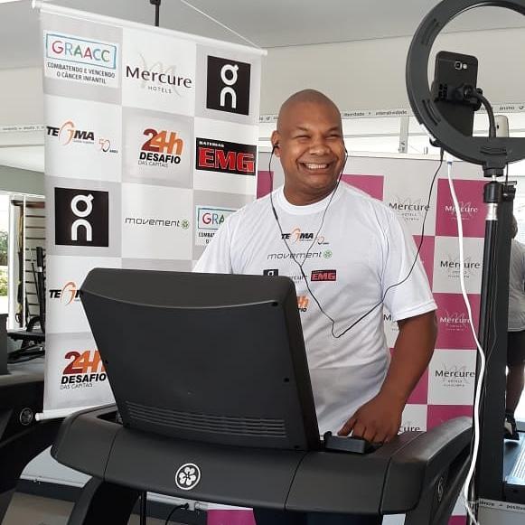 Ultramaratonista Carlos Dias é o embaixador da 1ª Corrida Virtual do GRAACC e  dá dicas para corredores