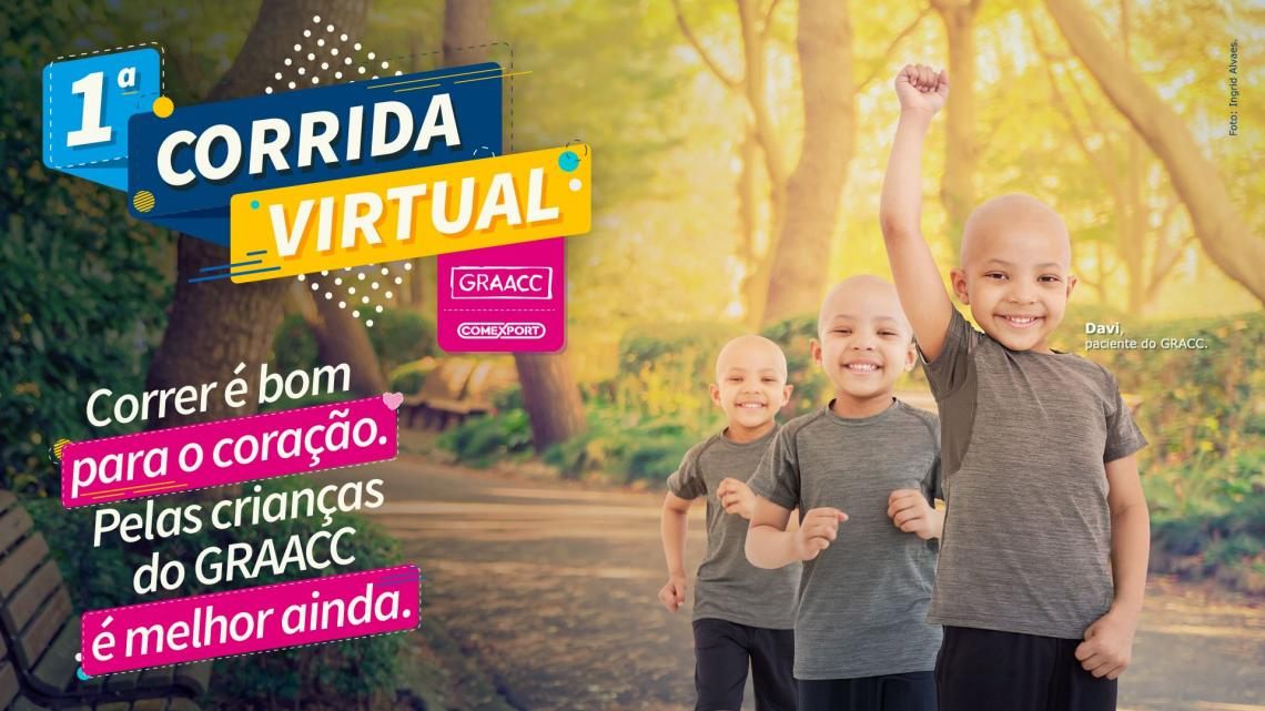 Carlos Dias é o embaixador da 1ª Corrida Virtual do GRAACC, e  dá dicas para corredores